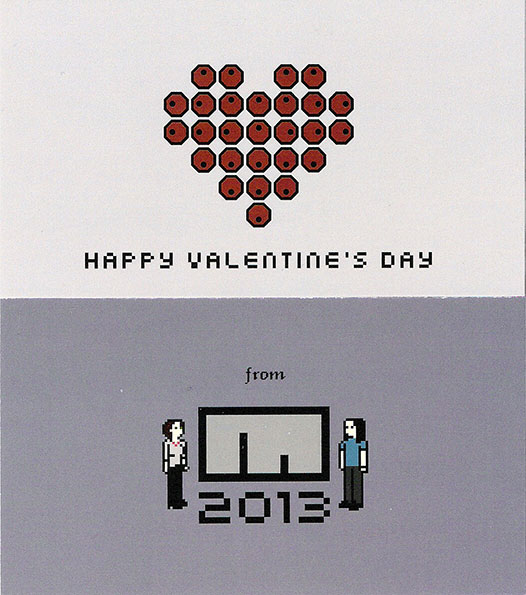 Metanet's 2013 valentine